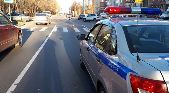 Насмерть пенсионерку на проспекте Текстильщиков сбил 17-летний студент